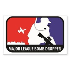 Major League Bomb Dropper Decal