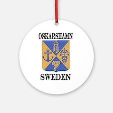 The Oskarshamn Store Ornament (Round)