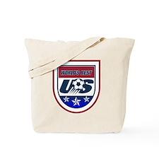 Worlds Best Soccer Tote Bag