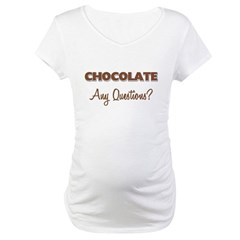 Chocolate Any Questions Shirt