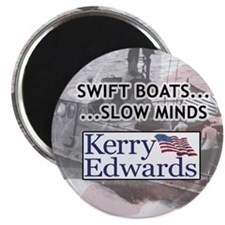 Swift boats... slow minds magnet (100 pack)