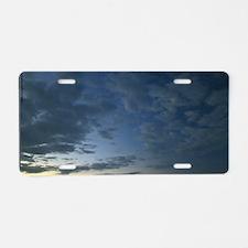 Break of Dawn Aluminum License Plate