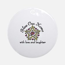 Love And Laughter Ornament (Round)