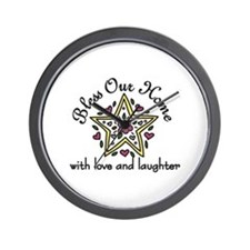 Love And Laughter Wall Clock