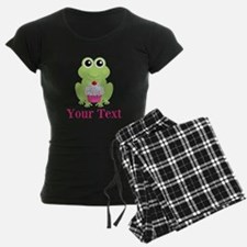 Personalizable Cupcake Frog Pajamas