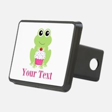 Personalizable Cupcake Frog Hitch Cover