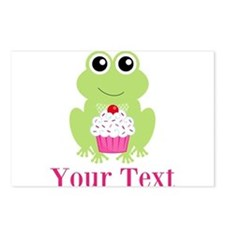 Personalizable Cupcake Frog Postcards (Package of