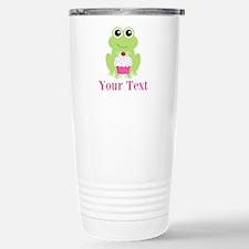 Personalizable Cupcake Frog Travel Mug