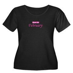 Due In February - Pink T
