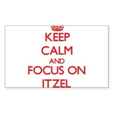 Keep Calm and focus on Itzel Decal