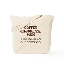 Coffee Chocolate Men Tote Bag