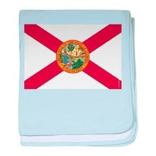 Florida State Flag baby blanket