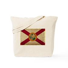 Florida State Flag VINTAGE Tote Bag