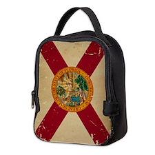 Florida VINTAGE Neoprene Lunch Bag