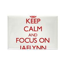 Keep Calm and focus on Jaelynn Magnets