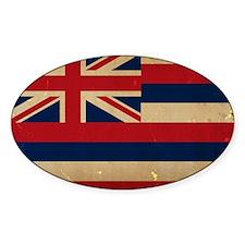Hawaii Flag VINTAGE Decal