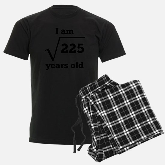 15th Birthday Square Root Pajamas