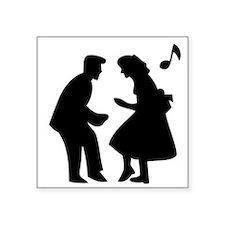 Couple Dancing Sticker