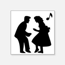 Couple Dancing Sticker