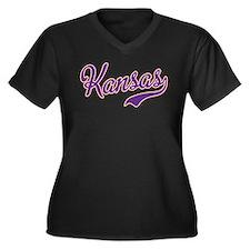 Kansas Plus Size T-Shirt