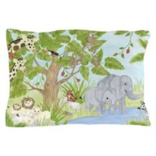 Jungle Animal Pillow Case