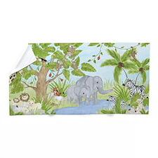 Jungle Animal Beach Towel