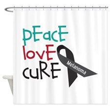 Peace Love Cure Shower Curtain