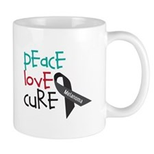 Peace Love Cure Mugs