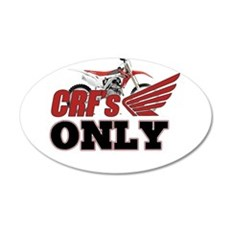 Crfs Only Wall Decal