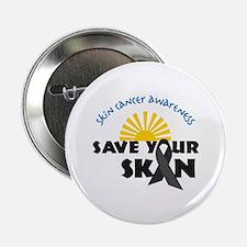 "Skin Cancer Awareness 2.25"" Button"