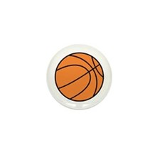 Basketball Belly Mini Button (100 pack)
