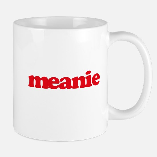 meanie (red) Mugs
