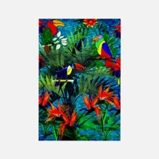 Rain Forest Fantasy Rectangle Magnet