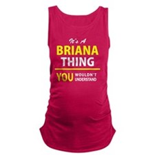 Unique Briana Maternity Tank Top