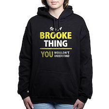 Funny Brooks Women's Hooded Sweatshirt