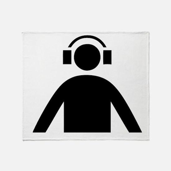 Music DJ Throw Blanket