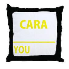 Unique Cara Throw Pillow
