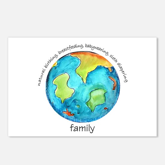 Earth Mama Postcards (Package of 8)