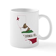 CALIFORNIA FLAG and STATE Mugs