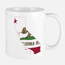 CALIFORNIA FLAG and STATE Mugs