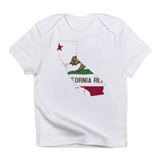 CALIFORNIA FLAG and STATE Infant T-Shirt
