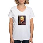 Van Gogh Women's V-Neck T-Shirt
