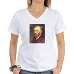 Van Gogh Women's V-Neck T-Shirt