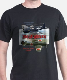 Dogfighters: F6F vs Ki-84 T-Shirt
