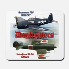 Dogfighters: F6F vs Ki-84 Mousepad