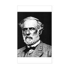 Robert E. Lee Rectangle Decal