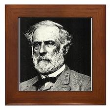 Robert E. Lee Framed Tile