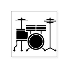 Drum Set Sticker
