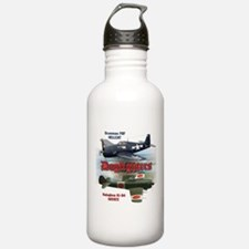 Dogfighters: F6F vs Ki Water Bottle