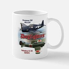 Dogfighters: F6F vs Ki-84 Mug